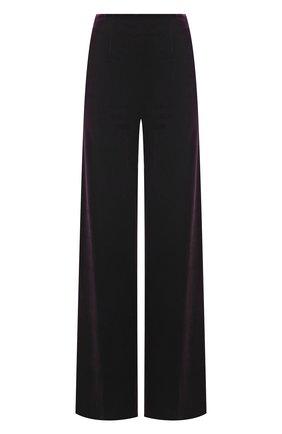 Женские брюки GALVAN LONDON фиолетового цвета, арт. TR3040 STRETCH VEL0UR | Фото 1