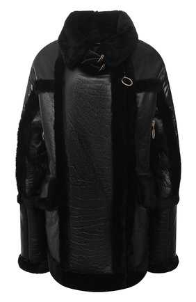 Женская дубленка NICOLE BENISTI черного цвета, арт. NLJ50013 | Фото 1