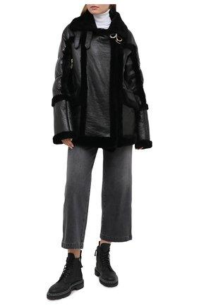 Женская дубленка NICOLE BENISTI черного цвета, арт. NLJ50013 | Фото 2