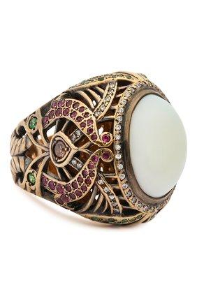 Женское кольцо heart QUEENSBEE разноцветного цвета, арт. 102051/20,83 | Фото 1