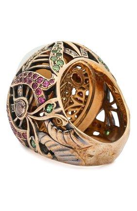 Женское кольцо heart QUEENSBEE разноцветного цвета, арт. 102051/20,83 | Фото 2