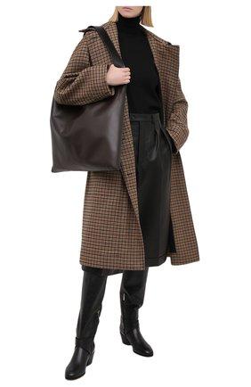 Женские кожаные сапоги beca 45 JIMMY CHOO черного цвета, арт. BECA 0TK 45/SQM | Фото 2