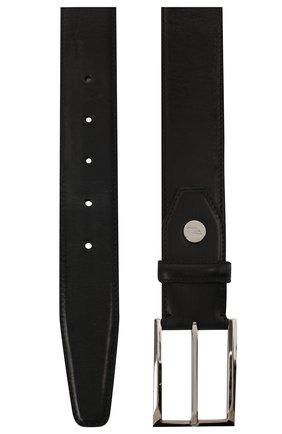 Мужской кожаный ремень BRIONI темно-серого цвета, арт. 0BAV0L/P9739 | Фото 2