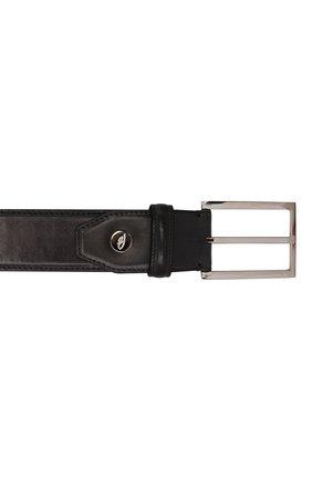 Мужской кожаный ремень BRIONI темно-серого цвета, арт. 0BAV0L/P9739 | Фото 3