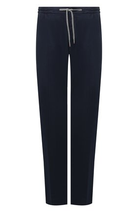 Мужские брюки из хлопка и кашемира MARCO PESCAROLO синего цвета, арт. CARACCI0L0/4210 | Фото 1