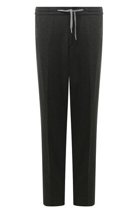Мужской брюки из кашемира и шерсти MARCO PESCAROLO темно-зеленого цвета, арт. CARACCI0L0/4274 | Фото 1