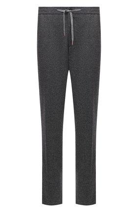 Мужские кашемировые брюки MARCO PESCAROLO серого цвета, арт. CARACCI0L0/4298 | Фото 1