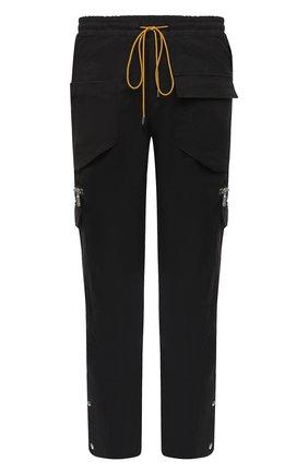Мужской хлопковые брюки-карго RHUDE серого цвета, арт. RHU08PF20045 | Фото 1