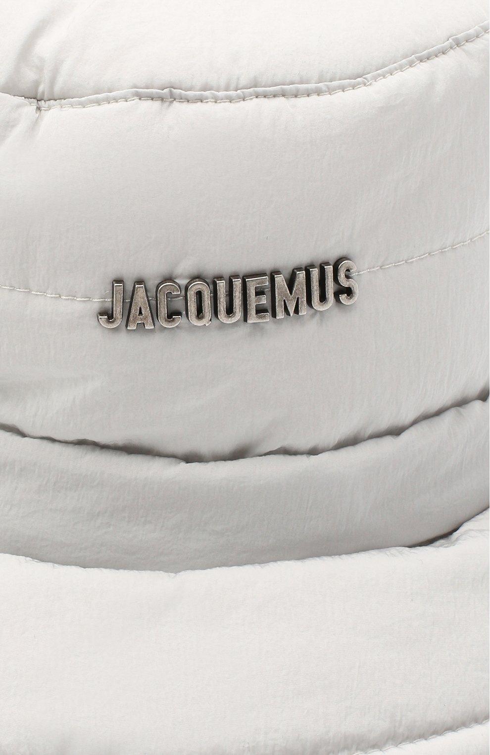 Мужская панама le bob doudoune JACQUEMUS серого цвета, арт. 206AC02/135920 | Фото 3