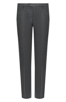 Мужские шерстяные брюки BERWICH серого цвета, арт. SC/1 ALC/RD8071 | Фото 1