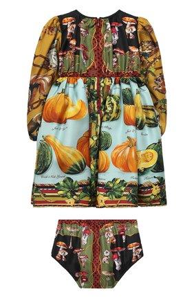 Женский комплект из платья и шорт DOLCE & GABBANA разноцветного цвета, арт. L22D07/G7XKP | Фото 2