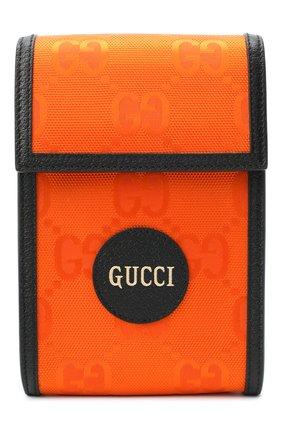 Мужская текстильная сумка off the grid GUCCI оранжевого цвета, арт. 625599/H9HAN | Фото 1 (Ремень/цепочка: На ремешке)