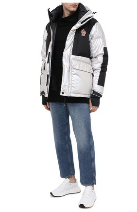 Мужская пуховая куртка breuil MONCLER GRENOBLE серебряного цвета, арт. F2-097-1B514-00-54AMT | Фото 2