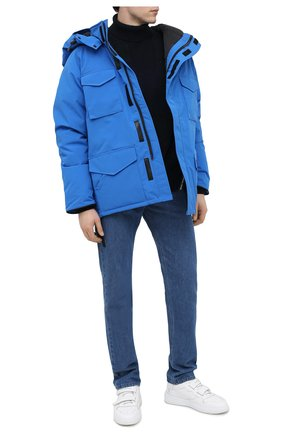 Мужская пуховая парка y/project x canada goose Y/PROJECT синего цвета, арт. YPCGPARKA1 F230 | Фото 2