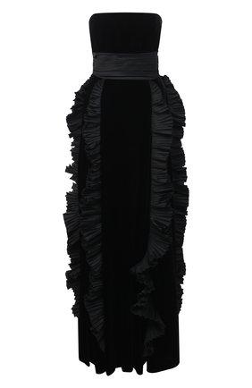 Женское платье ZUHAIR MURAD черного цвета, арт. DRP20364/VESB003 | Фото 1