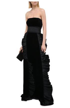 Женское платье ZUHAIR MURAD черного цвета, арт. DRP20364/VESB003 | Фото 2
