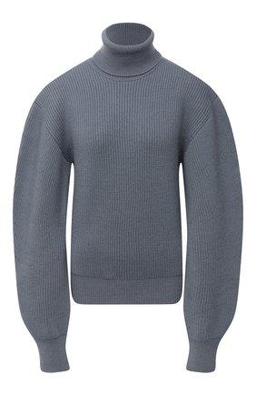 Женский шерстяной свитер JIL SANDER синего цвета, арт. JSWR751304-WRY20018 | Фото 1