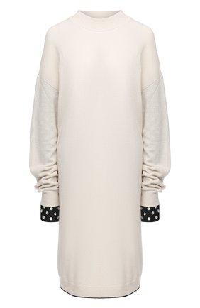 Женский шерстяной пуловер Y`S белого цвета, арт. YR-T02-160   Фото 1
