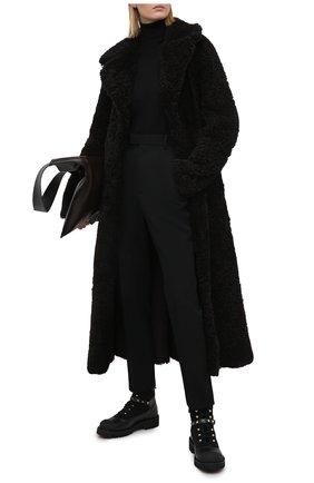 Женские кожаные ботинки valentino garavani rockstud VALENTINO черного цвета, арт. UW2S0R66/SPU | Фото 2