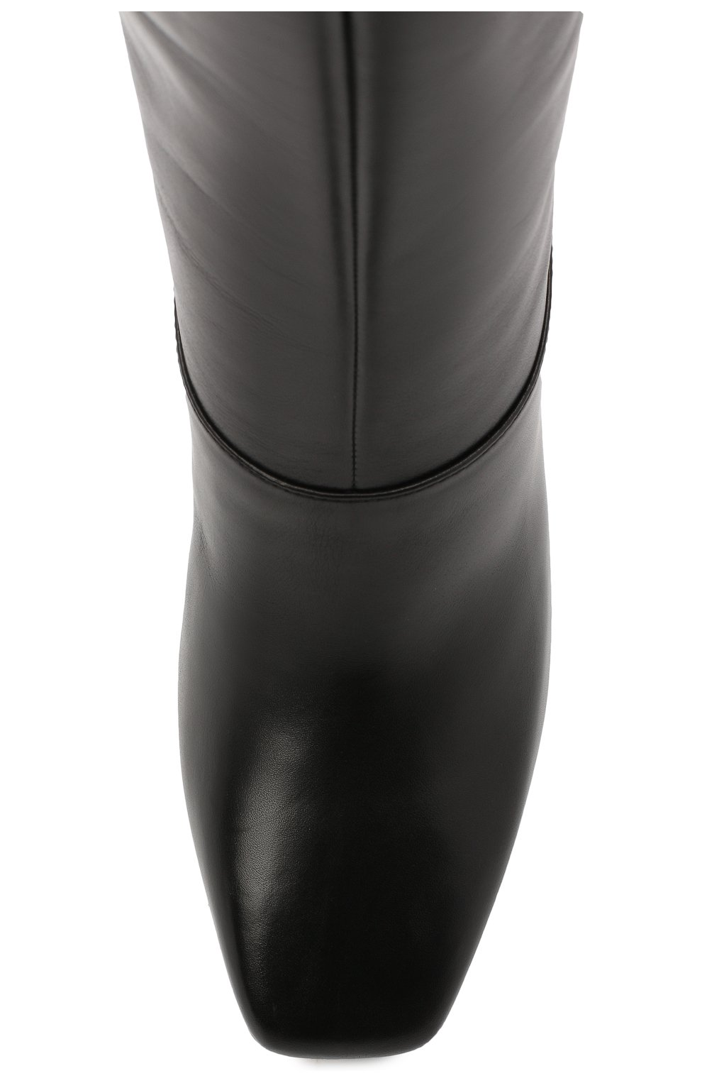 Женские кожаные сапоги mahesa 85 JIMMY CHOO черного цвета, арт. MAHESA 85/WLZ | Фото 5