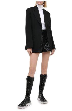 Женские шорты ALICE + OLIVIA черного цвета, арт. CC008I41601 | Фото 2