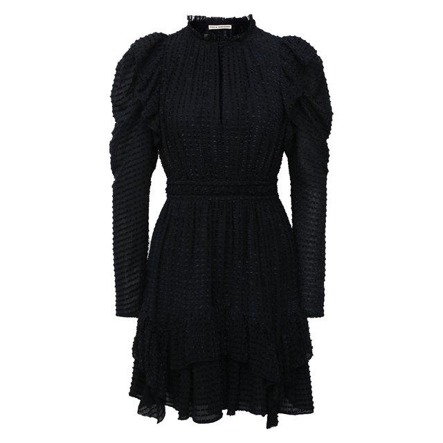 Платье из шелка и вискозы Ulla Johnson