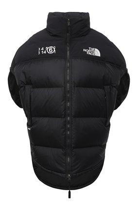 Женская куртка mm6 x the north face MM6 черного цвета, арт. S62AN0041/S53390 | Фото 1