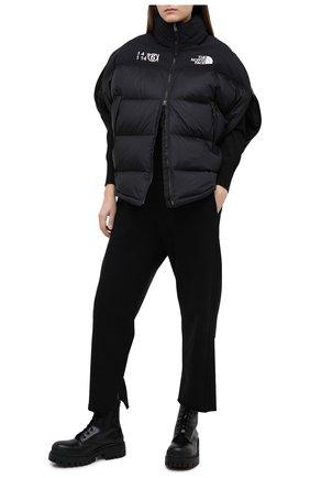 Женская куртка mm6 x the north face MM6 черного цвета, арт. S62AN0041/S53390 | Фото 2
