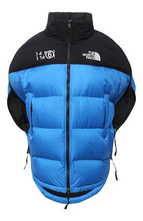 Женская куртка mm6 x the north face MM6 голубого цвета, арт. S62AN0041/S53390 | Фото 1
