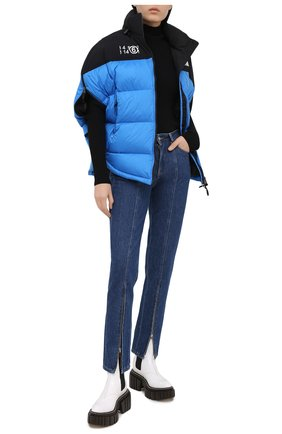Женская куртка mm6 x the north face MM6 голубого цвета, арт. S62AN0041/S53390 | Фото 2
