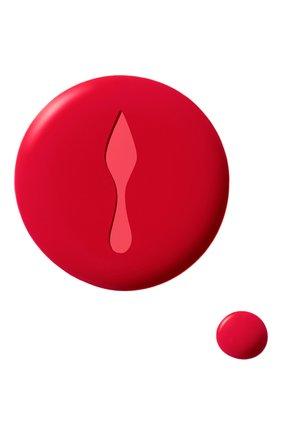 Матовый лак для ногтей fluid matte, оттенок rouge louboutin (13ml) CHRISTIAN LOUBOUTIN бесцветного цвета, арт. 8435415028448 | Фото 2 (Ограничения доставки: flammable)