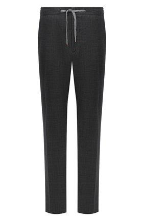 Мужской шерстяные брюки MARCO PESCAROLO темно-серого цвета, арт. CARACCI0L0/4231 | Фото 1