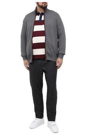 Мужской шерстяные брюки MARCO PESCAROLO темно-серого цвета, арт. CARACCI0L0/4231 | Фото 2