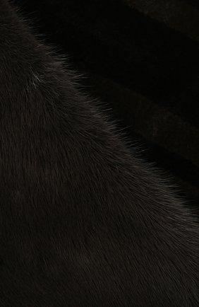 Шарф из меха норки | Фото №2