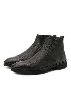 Мужские кожаные сапоги ALDO BRUE черного цвета, арт. AB8621K-NCM.A.A99T | Фото 1