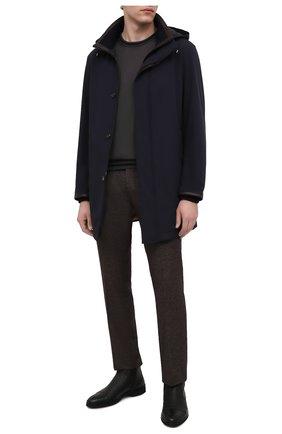 Мужские кожаные сапоги ALDO BRUE черного цвета, арт. AB8621K-NCM.A.A99T | Фото 2