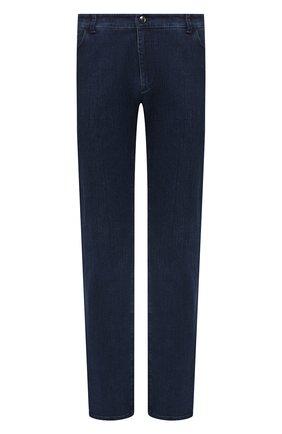 Мужские джинсы ZILLI синего цвета, арт. MCU-00061-SSBC1/R001/AMIS | Фото 1