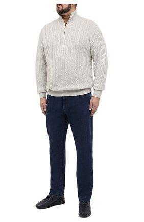 Мужские джинсы ZILLI синего цвета, арт. MCU-00061-SSBC1/R001/AMIS | Фото 2