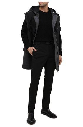 Мужские брюки 1017 ALYX 9SM черного цвета, арт. AAMPA0137FA01 | Фото 2 (Длина (брюки, джинсы): Стандартные; Случай: Повседневный; Материал внешний: Синтетический материал)