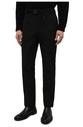 Мужские брюки 1017 ALYX 9SM черного цвета, арт. AAMPA0137FA01 | Фото 3 (Длина (брюки, джинсы): Стандартные; Случай: Повседневный; Материал внешний: Синтетический материал)