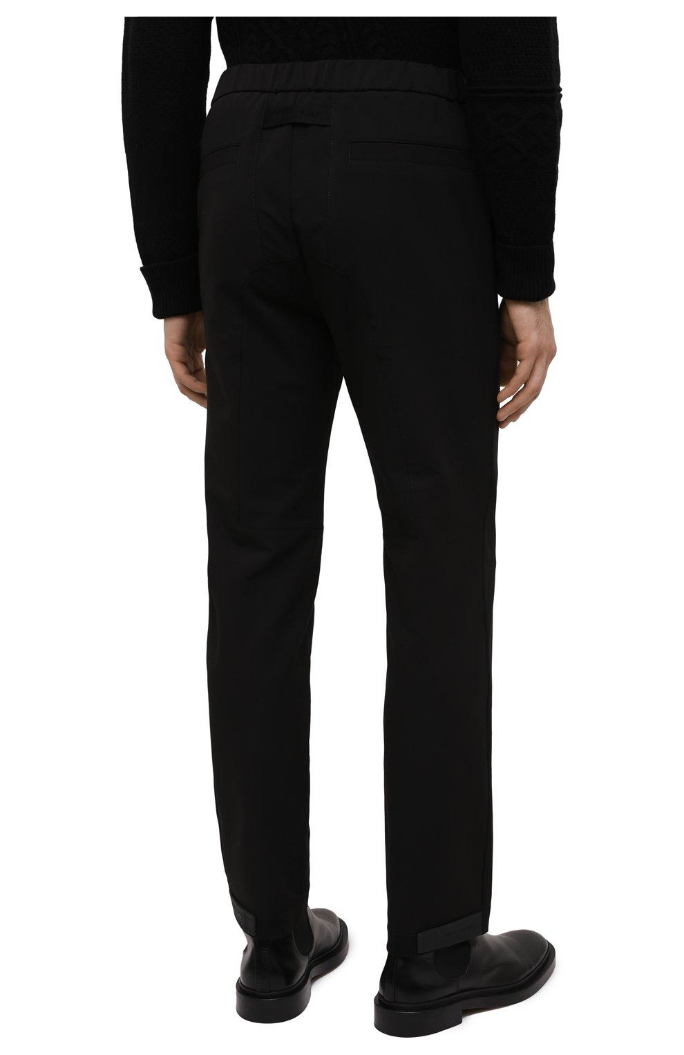 Мужские брюки 1017 ALYX 9SM черного цвета, арт. AAMPA0137FA01 | Фото 4 (Длина (брюки, джинсы): Стандартные; Случай: Повседневный; Материал внешний: Синтетический материал)