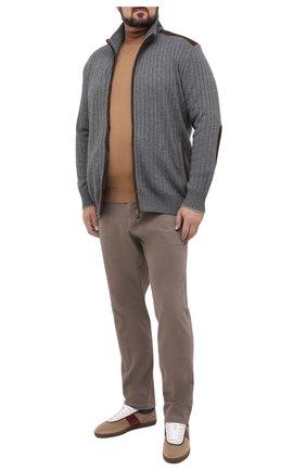 Мужская кардиган из шерсти и вискозы PAUL&SHARK серого цвета, арт. I20P1268/H3A/3XL-6XL | Фото 2