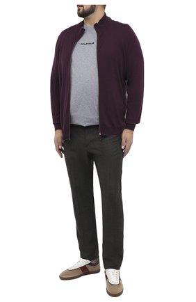 Мужской шерстяные брюки MARCO PESCAROLO коричневого цвета, арт. CARACCI0L0/4266 | Фото 2