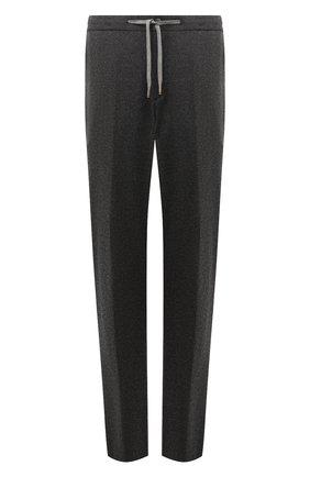 Мужской брюки из кашемира и шерсти MARCO PESCAROLO серого цвета, арт. CARACCI0L0/4274 | Фото 1