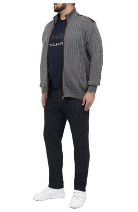 Мужские джинсы MARCO PESCAROLO темно-синего цвета, арт. CARACCI0L0/42J20 | Фото 2