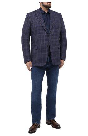 Мужские джинсы ZILLI синего цвета, арт. MCU-00090-JAC01/R001 | Фото 2