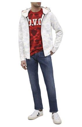 Мужские кожаные кеды VEJA черно-белого цвета, арт. E0020005B | Фото 2
