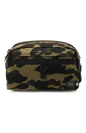 Мужская текстильная поясная сумка BAPE хаки цвета, арт. 1G83182970   Фото 1
