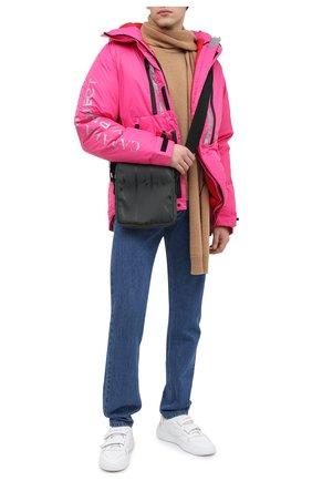 Мужская текстильная сумка valentino garavani VALENTINO черного цвета, арт. UY0B0987/BUK   Фото 2