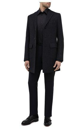 Мужская хлопковая сорочка ETON черного цвета, арт. 1000 01276 | Фото 2